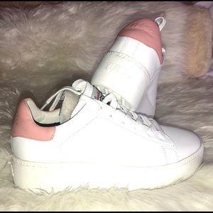 ASH Natural Cult Lace-up Platform Sneaker
